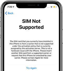sim-not-supported