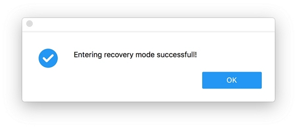 Successfully Enter Recovery Mode