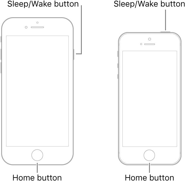 Restart your iPhone 6s