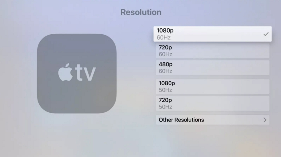 change Your TV's Resolution