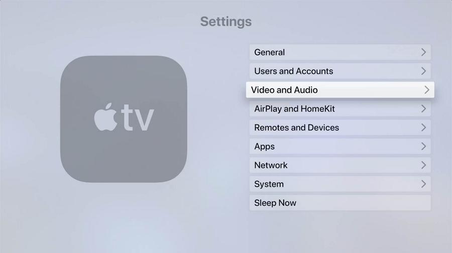 Change HDMI Output Settings