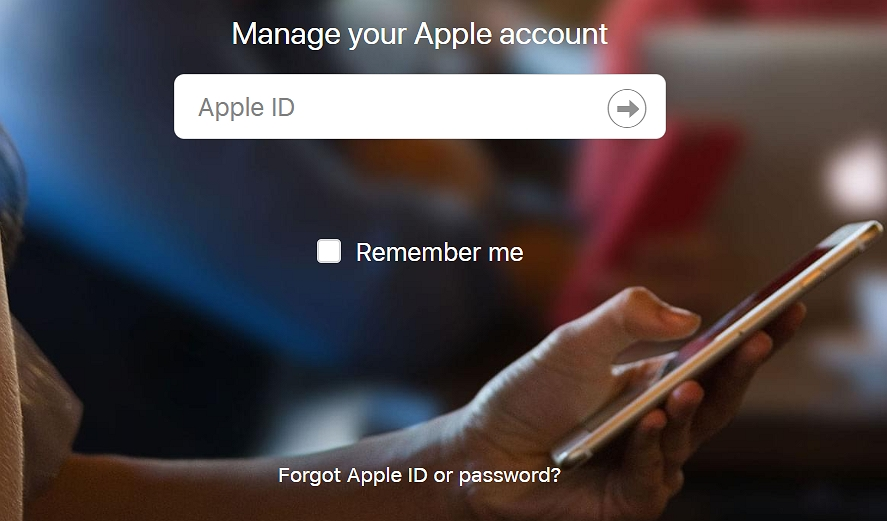 Use Your Apple ID and Password