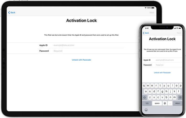 Unlock with Passcode