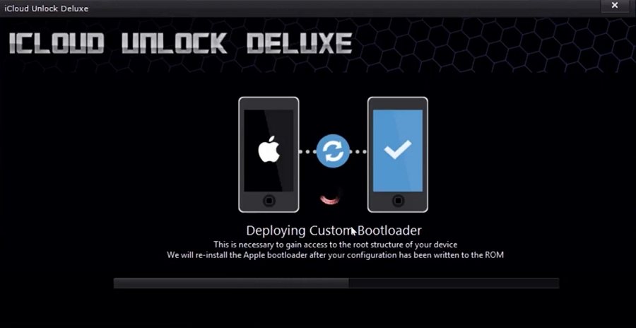 iCloud unlock deluxe free