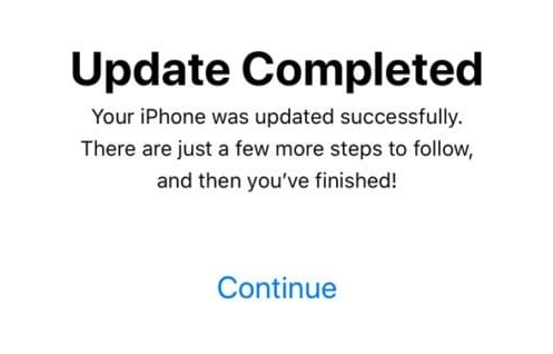 Let the Device Complete the Update