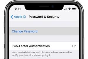 Password & Security