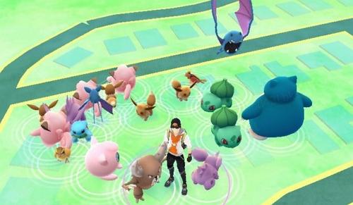Pokémon Nests