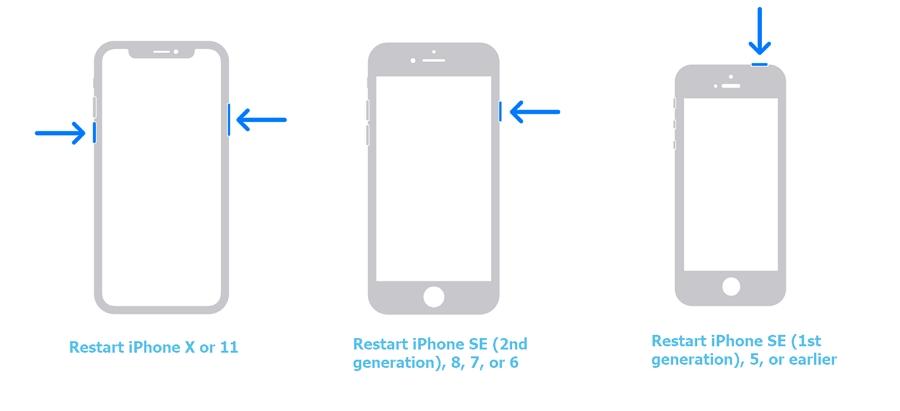 Restart your device